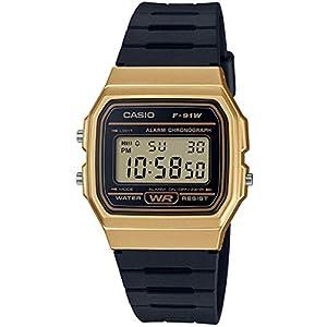 Casio-Unisex-Erwachsene-Armbanduhr-F-91WM
