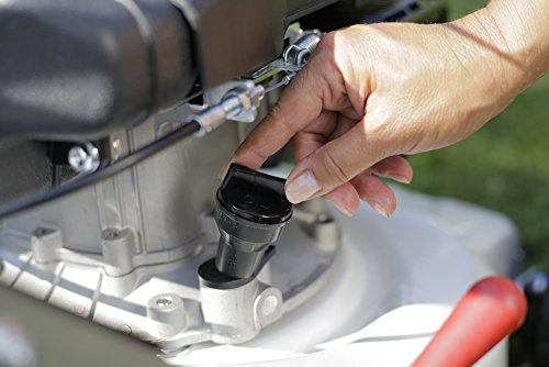 IKRA-Benzin-Rasenmher-IBRM-1040-TL-4-Takt-Motor-Tonino-Lamborghini-Fangbox-50l-Schnittbreite-40cm