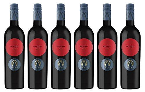 Arcale-Merlot-Salento-IGT-2016-trocken-Wein-6-x-075-l