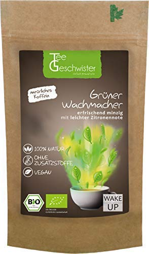 BIO-Grner-Wachmacher-Koffein-aus-Matcha-Pulver-Grner-Tee-und-Mate-Tee-Morgen-Tee-als-Kaffeeersatz-Tee-Geschwister-100g