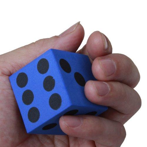 20-Stck-14-mm-Wrfel-Spiele-Spielen-Wrfel-in-gemischten-Farben