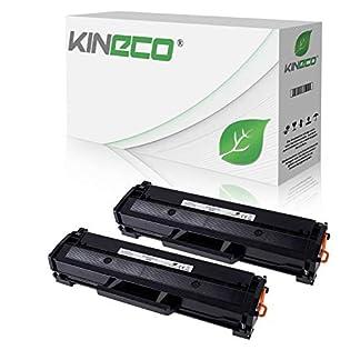 2-Kineco-XXL-Toner-150-mehr-Inhalt-kompatibel-zu-Samsung-MLT-D111S-fr-Samsung-M2026W-M2022W-M2022-M2070W-M2070FW-M2020-M2000-MLTD111SELS-Schwarz-je-2500-Seiten
