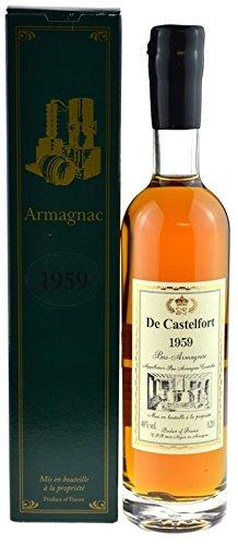 Raritt-Armagnac-De-Castelfort-02l-Jahrgang-1959-abgefllt-2015-56-Jahre-im-Fass-gelagert-inkl-Geschenkkarton