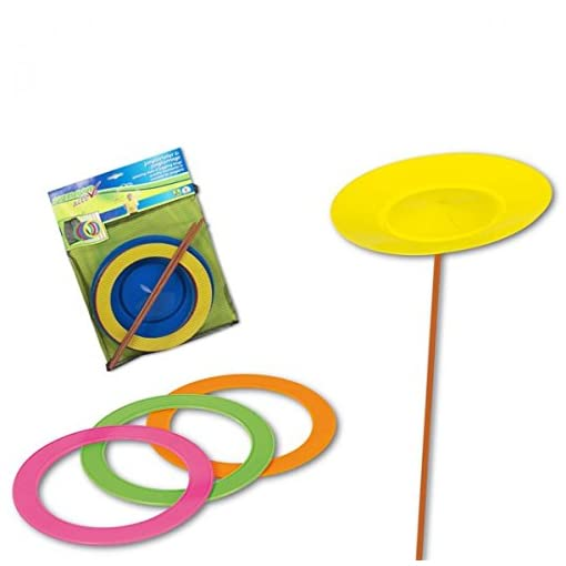 8-tlg-Jonglierset-Set-Aufbewahrungsnetz-Geschicklichkeitsspiel-Kinder-Spielzeug