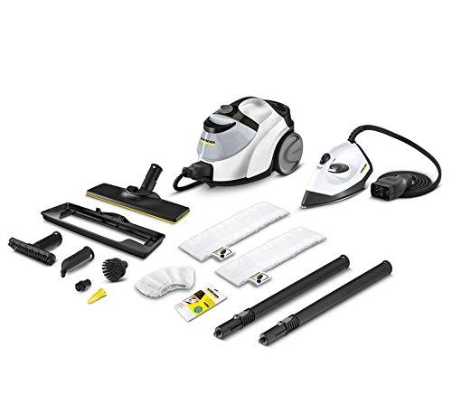 Krcher-SC-5-EasyFix-Premium-Iron-Dampfreiniger-1512-5520-2200W-Wei-Schwarz-inkl-Bgeleisen