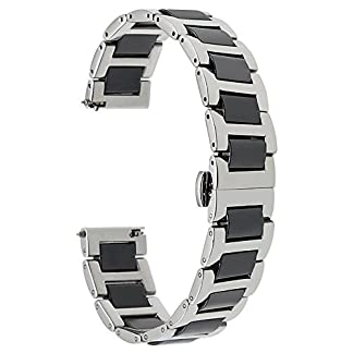 TRUMiRR-22mm-Keramik-Uhrenarmband-Schnellspanner-Alle-Links-Abnehmbare-fr-Samsung-Gear-2-R380-R381-R382-Getriebe-S3-Classic-Frontier-Moto-360-2-46mm-Asus-ZenWatch-1-2-Herren-Pebble-Time-LG-Urbane-W150