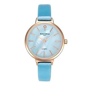 Juboos-Damenuhr-Analog-Quartz-Uhr-mit-Armbanduhr-Leder-Wasserdicht-Mdchen-Uhren-JU-006