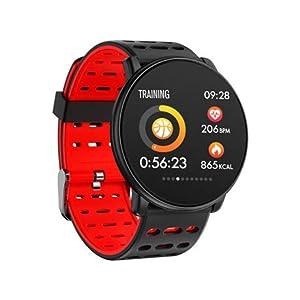 Zntn–Smart-Watch-Smart-Watch-Runde-13-Farbdisplay-Herzfrequenz-Blutdruck-Trainingsarmband-Bluetooth-Schritt-Schlaf