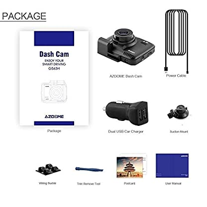 AZDOME-Autokamera-mit-4K-Auflsung-WiFi-Dashcam-mit-GPS-und-Loop-Aufnahme-Dash-Cam-mit-170-Weitwinkelobjektiv-und-Nachtsicht-Dash-Camera-mit-G-Sensor-Parkmonitor-und-BewegungserkennungGS63H