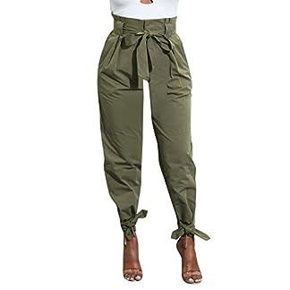 Hosen-Zolimx-Damen-Belted-Hohe-Taille-Schlauch-Mode-Party-Lssige-Hosen-Vintage-Cargohose-Schlauch-Outdoor-Lssige-Jeans-Haremshose