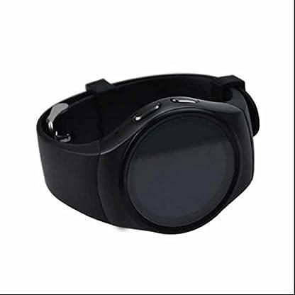 Intelligente-UhrBluetooth-40-Armband-Intelligente-Uhren13-Zoll-Vollansicht-RundschirmAnrufe-Nachricht-VibrationSIM-KartenslotGesundheit-Sleep-MonitorBlutdruckmessungAktivittstracker-fr-Android-43-IOS-