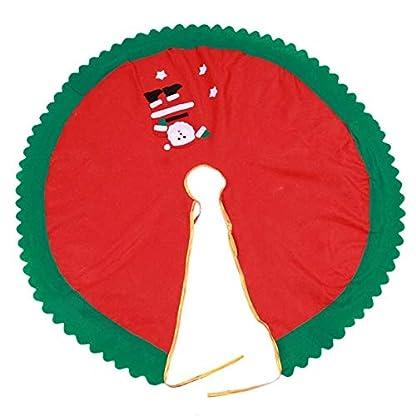 CHENZHAOL-Baumrock-90cm-Weihnachtsmann-Baum-Rock-Weihnachtsbaum-Rcke-Weihnachtsbaum-Dekoration-Frohe-Weihnachten-liefert-Weihnachtsdekoration