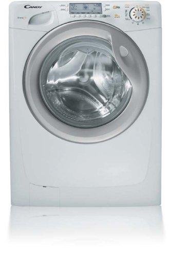 Candy-GB-1484-DAS-autonome-Belastung-Bevor-8-kg-1400trmin-A-wei-Waschmaschine–Waschmaschinen-autonome-bevor-Belastung-wei-links-Edelstahl-Silber