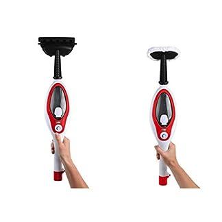 2in1-Dampfreiniger-Starke-1500-Watt-Dampfmob-Hand-Dampfreiniger-Dampfbesen-Fensterputzer-Boden-Reiniger-380-ml-Wassertank-Viel-Zubehr-Schwenkkopf