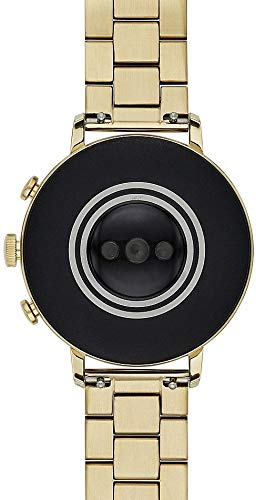Fossil-Damen-Smartwatch-mit-Edelstahl-Armband-FTW6013