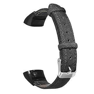 Siswong-Mode-Denim-Armband-metallgehuse-Armband-uhrenarmband-fr-Huawei-Honor-Band-54-Jeansgrtel-Denim-Grtel-Weicher-atmungsaktiver
