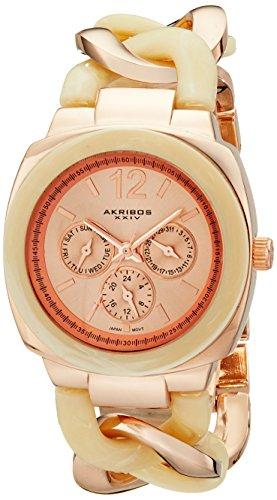 Akribos-Damen-Armbanduhr-AK641RG