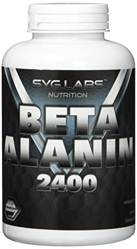 Syglabs Nutrition Beta Alanin 2400 – 240 hochdosierte Kapseln, 1er Pack (1 x 229 g)