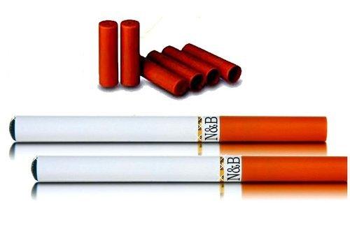 Elektro E Zigarette Set Doppelpack 2 Stück + 20 Depots 0,0mg Nikotin