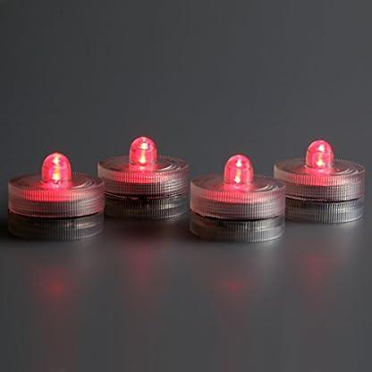 LED-Highlights-Deko-Kerzen-Teelichter-4-er-Set-rot-flackernd-wasserdicht-kabellos-Batterie-Stimmungslicht-Tischlampe-Innen-Aussen