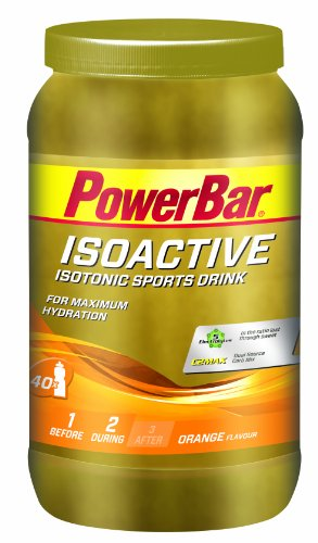 PowerBar Isoactive Sports Drink Orange, 1.32 kg