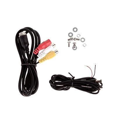 Carmedien-Rckfahrkamera-fr-Wohnmobile-und-Transporter-120-IR-LED-Kabel-wei-Edelstahl