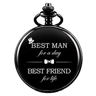 Taschenuhr-ManChDa-Personalisiert-Graviert-Best-Man-Taschenuhr-Quarz-Fobwatch-Brutigam-Geschenke-Fr-Hochzeit-Trauzeuge-Geschenke-Gravierte-Trauzeuge-Taschenuhr-Hochzeitsgeschenk-Geschenkbox
