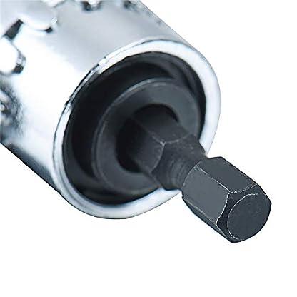 xinxun-105-Winkelschrauber-Vorsatz-Adapter-14-Zoll-Schnellwechsel-und-magnetischen-Bit-Halter-Reparatur-Werkzeuge-fr-Schraubendreher-Akkuschrauber-Bohrmaschine-Ratschen