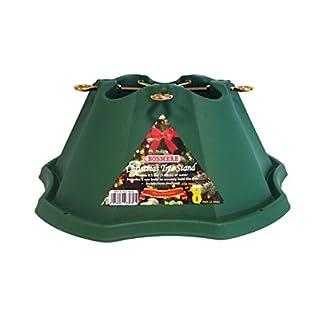 Bosmere-G472-Kunststoff-Weihnachtsbaum-Stand-8ft-55-Zoll-Trunk-grn