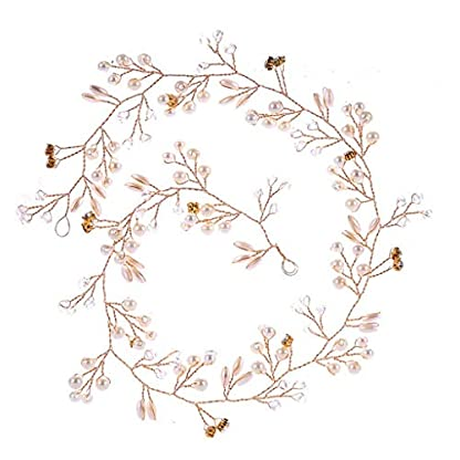 Darringls-Mode-Luxus-Braut-Perle-Stirnband-Handgewebte-Haarschmuck-Kopfschmuck-fr-Damen-Elegante-Fee-Prinzessin-Lange-Blume-Spitze-Haar-Seil-String-Mothers-Day