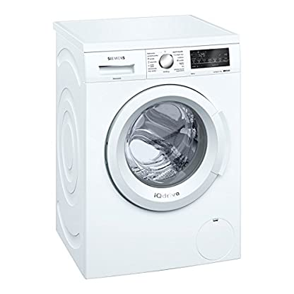 Siemens-iQ500-wu12q468es-freistehend-Frontlader-8-kg-1200RPM-A-Waschmaschine–Wei-freistehend-Frontlader-wei-rotation-Berhrung-links-LED