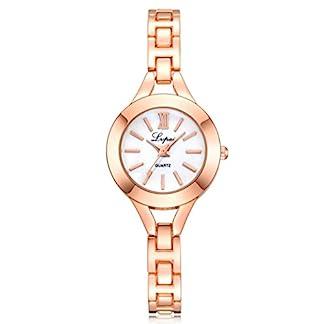 Armbanduhr-Damen-erthome-Damen-Uhr-Armband-Edelstahl-Quarz-Armbanduhr-Muttertag-Geschenk