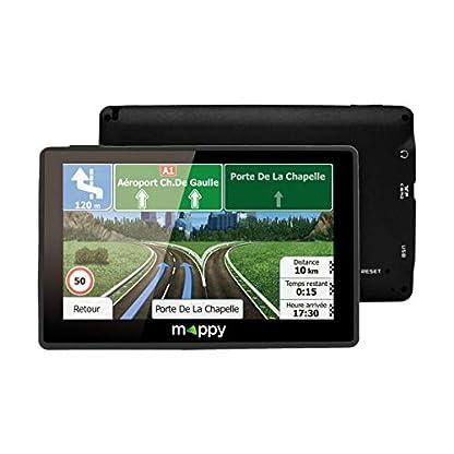 MAPPY-ULTI-E538-Navigationssystem-Kontinent-Ausschnitt