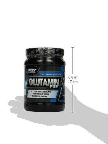 Frey Nutrition Glutamin Pur, 1er Pack (1 x 500 g)