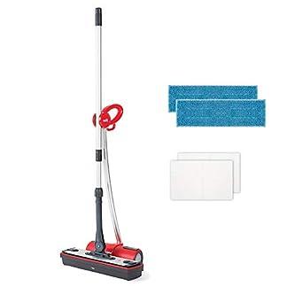 Moppy-Polti-Dampfbodenwischer-ohne-Kabel-Cordless-fr-Hartbden-und-vertikale-waschbare-Flchen