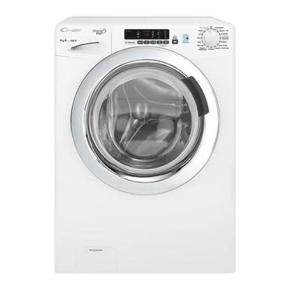 Candy-GVS-139dc3-37-autonome-Belastung-Bevor-9-kg-1300trmin-A-Wei-Waschmaschine-Waschmaschinen-autonome-bevor-Belastung-wei-links-Edelstahl-62-l