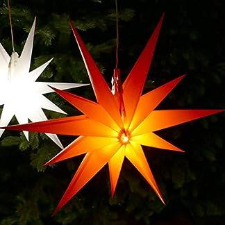 Weihnachtsstern-rot–50-cm-mit-11-Zacken-LED-Birne-beleuchtet-7-m-Zuleitung-Strom