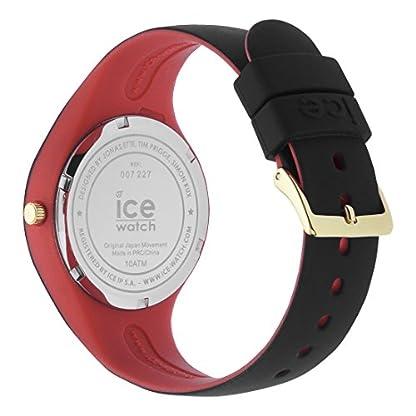 Ice-Watch-ICE-loulou-Black-Glitter-Schwarze-Damenuhr-mit-Silikonarmband