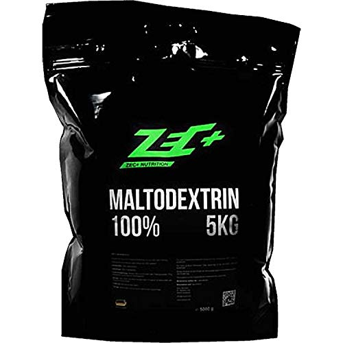 ZEC+ Maltodextrin Weight-Gainer Pulver – 5000 g, leicht verdauliches Kohlenhydrathe-Pulver, Supplement für Bodybuilding & Krafttraining, MADE IN GERMANY, Geschmack Neutral