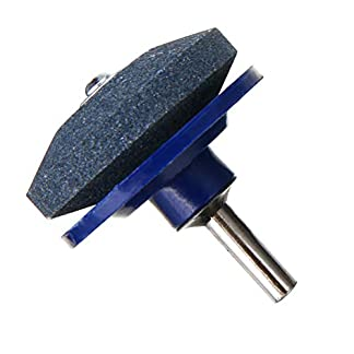 Yardwe-Rasenmher-Messerschrfer-Universal-Schleifen-Bohrer-Schnitte-fr-Bohrmaschine-Handbohrmaschine-50-MM-2-STCKE-Blau