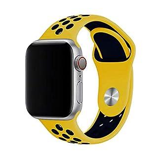 ZZXS-Armband-Armband-42mm-38mm-Silikon-Correa-Iwatch-5-4-3-2-44mm-40mm-Sport-Armbanduhr-Zubehr-China-gelb-dunkelblau