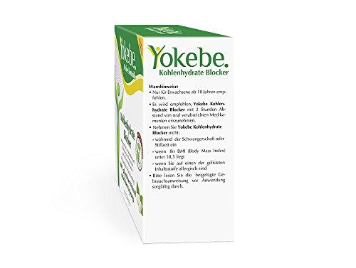 Yokebe Aktive Kontrolle Kohlenhydrate Blocker, 30 Stück (1 x 30 Stück)