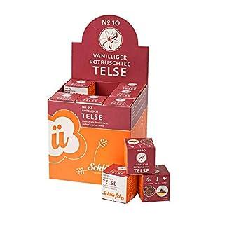 Schlrf-Schlrfel-Bio-Rooibos-Tee-Telse-No-10-1-Display-mit-27-Teebeutel-Wrfel-Tee-Box-Rotbusch-Roibusch-Tee-im-Pyramidenbeutel-einzeln-verpackt-675-g