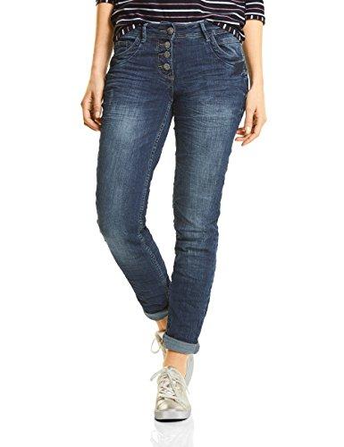 CECIL Damen Straight Jeans 371167 Scarlett