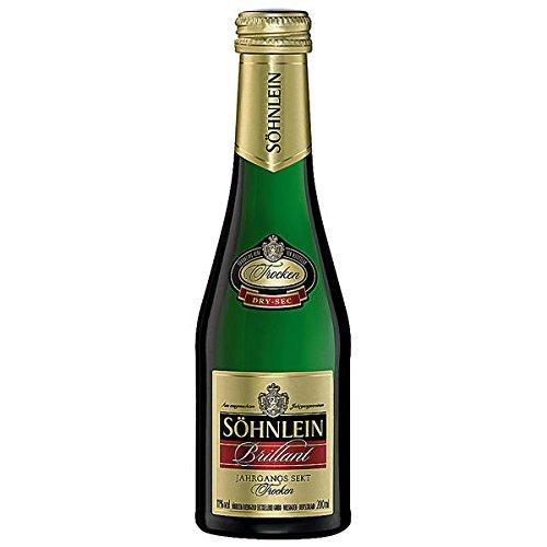 24-Flaschen-Shnlein-Brillant-Trocken-Jahrgangssekt-Sekt-a-200ml-Piccolo