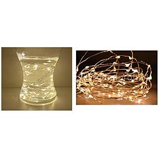 10-er-Draht-Lichterkette-Drahtlichterkette-SILBERDRAHT-Warmwei-incl-Batterie-Micro-LED-Lichterkette-Lichterschlauch-Batterie-Weihnachten-Licht-Lichterketten-Party