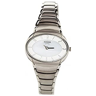 Boccia-Damen-Analog-Quarz-Uhr-mit-Titan-Armband-3255-03