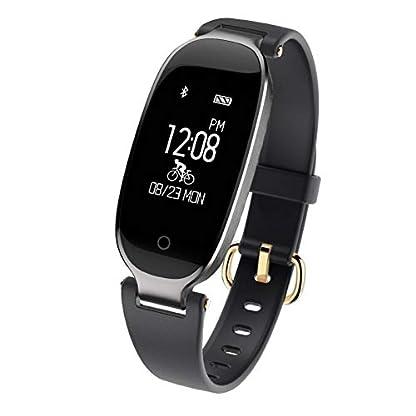 SZPZC-Smartwatch-Smart-Uhr-Mode-Frauen-Damen-Herzfrequenz-Bluetooth-Relogio-Inteligente
