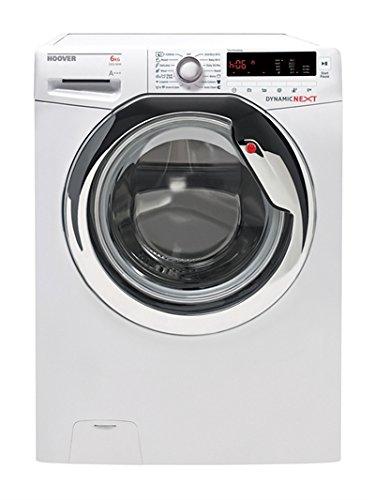 Hoover-dxc3-2632-autonome-Belastung-vor-6-kg-1200trmin-A-Wei-Waschmaschine-Waschmaschinen-autonome-bevor-Belastung-wei-links-Edelstahl-40-l