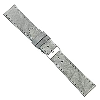 Uhrbanddealer-Unisex-Uhrenarmband-Ersatzband-Leder-Vintage-190014